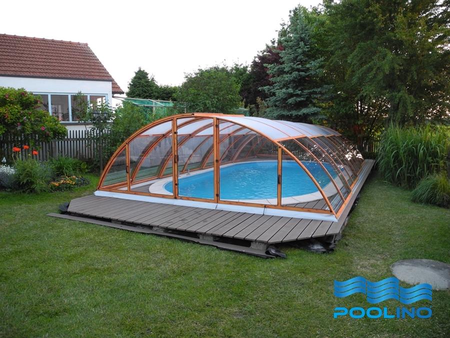 pp pool polypropylen schwimmbecken 6x2 7x1 2m berdachung klasik excellence a ebay. Black Bedroom Furniture Sets. Home Design Ideas