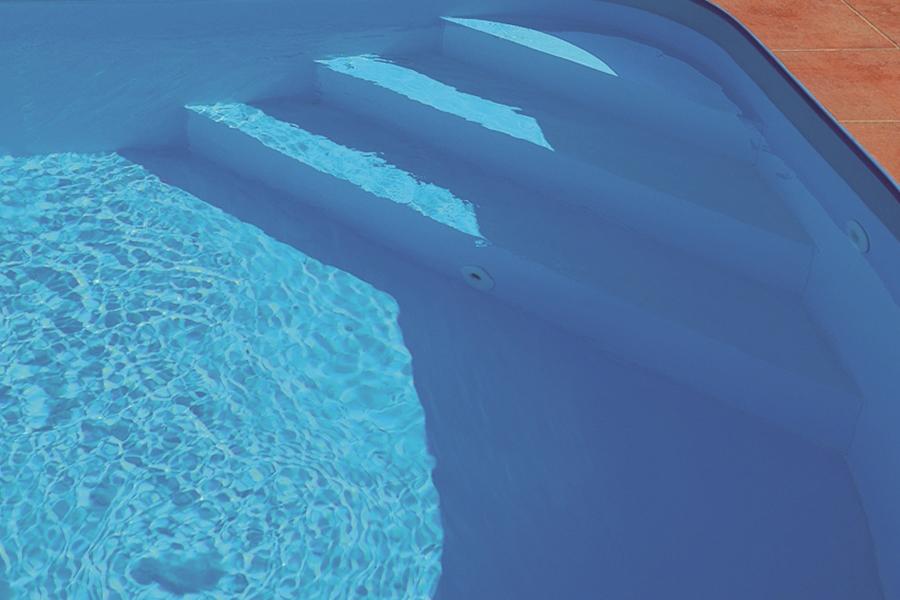 pp pool polypropylen 8x3 45x1 5m schwimmbecken komplettset schwimmbad ebay. Black Bedroom Furniture Sets. Home Design Ideas