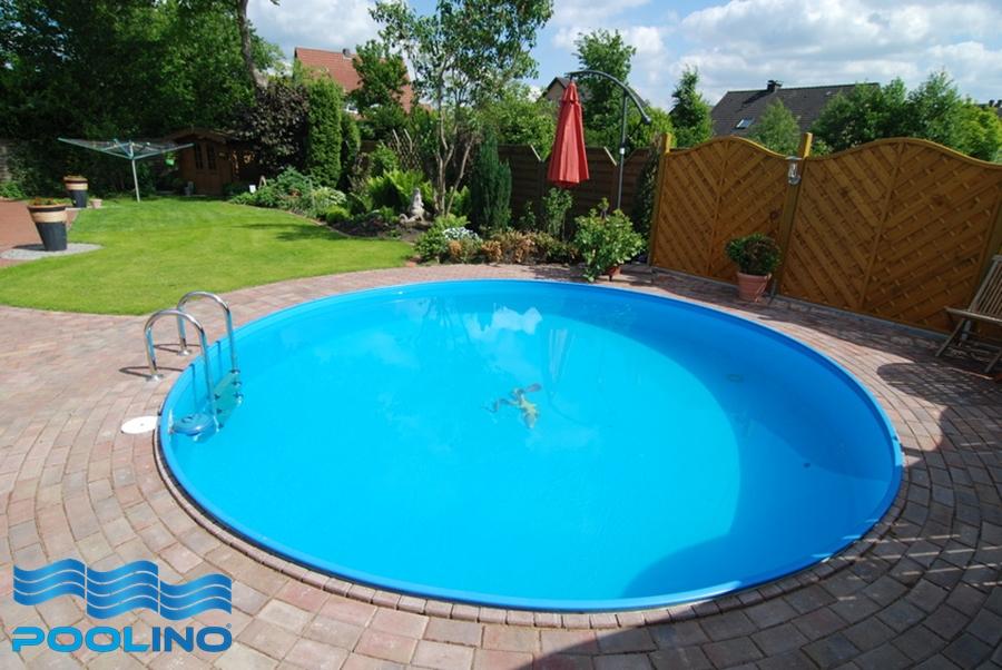 Stahlwandbecken 2 00x1 20m pool schwimmbecken rundbecken for Pool stahl rund